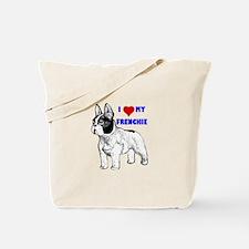 Cute French bull dog Tote Bag