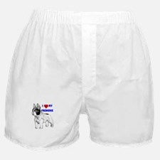 Unique French bull dogs Boxer Shorts