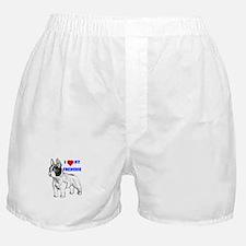 Cute Dog frenchie Boxer Shorts