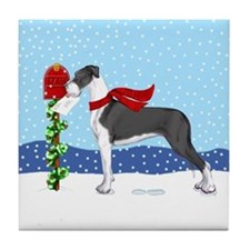 Great Dane Mantle UC Mail Tile Coaster
