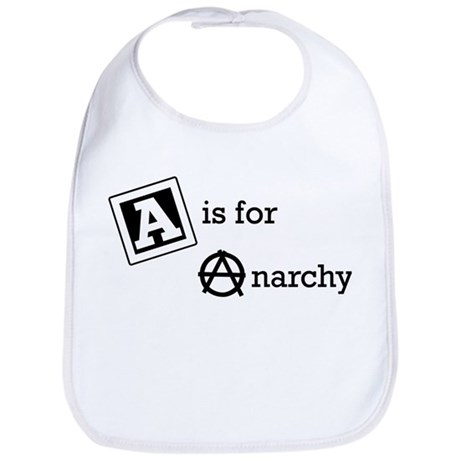 A is for Anarchy Baby Bib