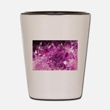 Amethyst Healing Gemstone Shot Glass