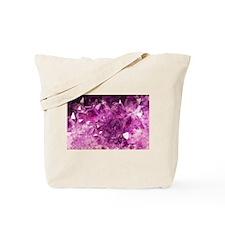 Amethyst Healing Gemstone Tote Bag