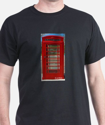 British Phone Box T-Shirt