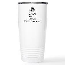 Keep calm we live in Di Travel Mug