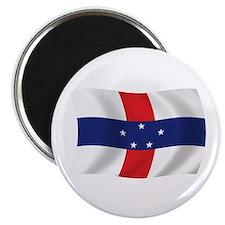 """Netherlands Antilles Flag 2.25"""" Magnet (100 pack)"""