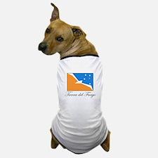 Tierra del Fuego - Flag Dog T-Shirt