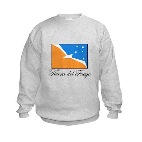 Tierra del Fuego - Flag Kids Sweatshirt