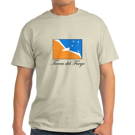 Tierra del Fuego - Flag Light T-Shirt