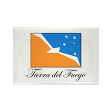 Tierra del Fuego - Flag Rectangle Magnet