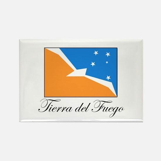 Tierra del Fuego - Flag Rectangle Magnet