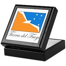 Tierra del Fuego - Flag Keepsake Box