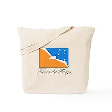 Tierra del Fuego - Flag Tote Bag