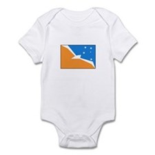 Tierra del Fuego Flag Infant Bodysuit