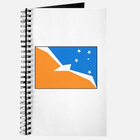 Tierra del Fuego Flag Journal