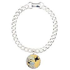 Hokusai Hydrangea and Sw Bracelet