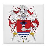 Dias family crest Drink Coasters