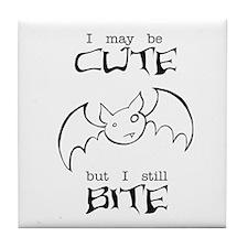 I Still Bite Tile Coaster