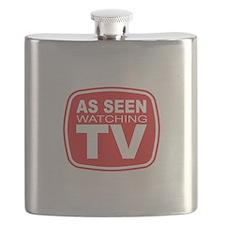 As Seen Watching TV Flask