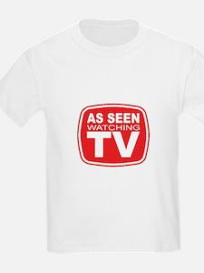 As Seen Watching TV T-Shirt