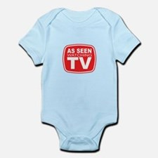 As Seen Watching TV Infant Bodysuit