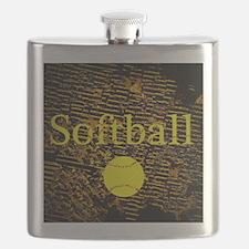 Softball Flask