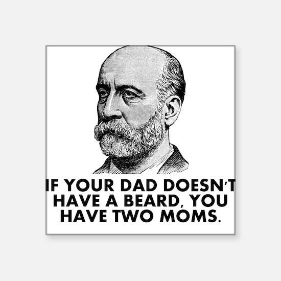 Two Moms Sticker