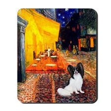 Cafe & Papillon Mousepad