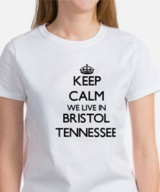 Keep calm we live in Bristol Tennessee T-Shirt