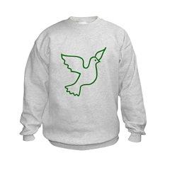 Green Peace Dove Sweatshirt
