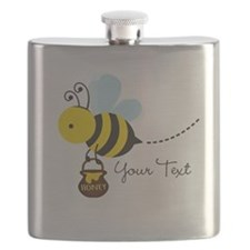 Honey Bee, Honeybee, Carrying Honey; Kid's Flask