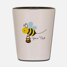 Honey Bee, Honeybee, Carrying Honey; Kid's Shot Gl