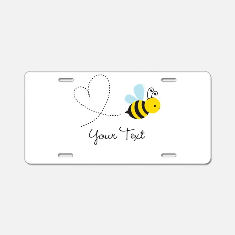 Cute Bee and Heart; honeybee; Personalized Kid's A