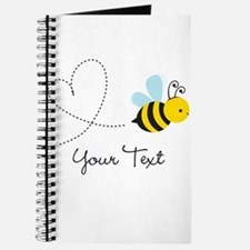 Cute Bee and Heart; honeybee; Personalized Kid's J