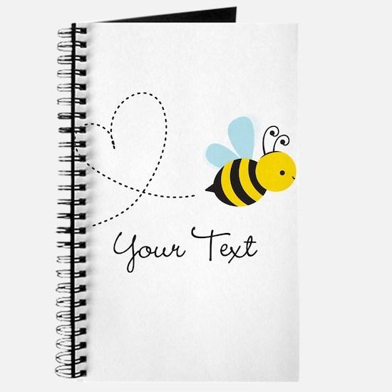 Cute Bee and Heart; honeybee; Personalized Kid's J