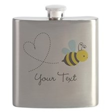 Cute Bee and Heart; honeybee; Personalized Kid's F