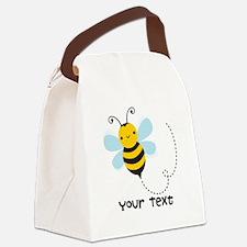 Personalzied Kid's Honey Bee, Black & Yellow Canva