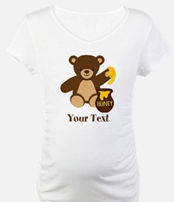Cute Honey Bear; Personalized Kid's Graphic Matern
