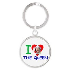 I Love The Queen Pro photo Keychains