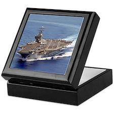 USS Carl Vinson CVN70 Keepsake Box