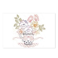 Embroidery Postcards (Package of 8)