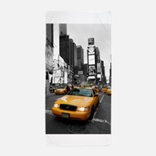 New York Yellow Cab Pro Photo Beach Towel