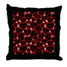 Cute Funny antivalentine Throw Pillow