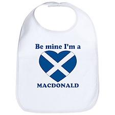 MacDonald, Valentine's Day  Bib