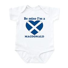 MacDonald, Valentine's Day  Infant Bodysuit