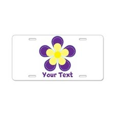 Cute Purple and Yellow Flower, Floral Kid's Graphi
