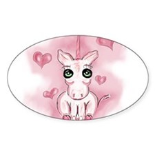 Pink Unicorn Decal