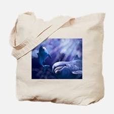 Dolphin Playtime Tote Bag