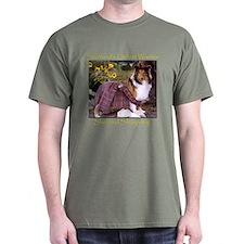 Warrior Sheltie T-Shirt