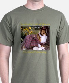 Warrior Sheltie T-Shirt